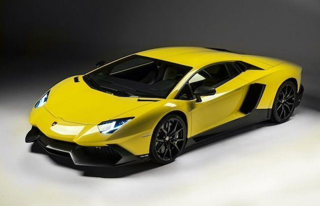 Lamborghini Aventador LP720-4 50 Anniverssario edition Images Revealed