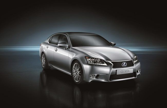 Lexus reveals the new GS 300h at the Shanghai Motor Show