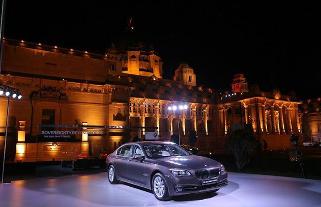 2013 BMW 7 Series Launched in India