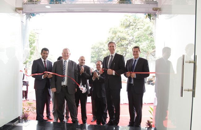 Volvo inaugurates a new showroom in Bangalore