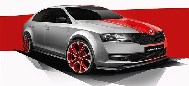 Skoda Rapid Sport Concept to be Showcased at 2013 Worthersee Tuning Event