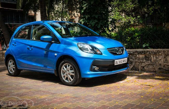 Honda Cars India introduces refreshed variants of Honda Brio