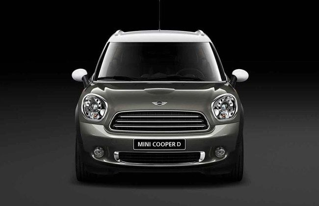 BMW Launches Mini Countryman Diesel in India