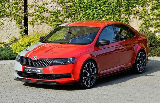 Skoda Rapid Sport Concept Debuts Officially at Worthersee