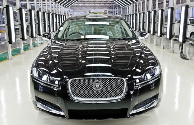 Jaguar Land Rover Sales up by 12% in April 2013