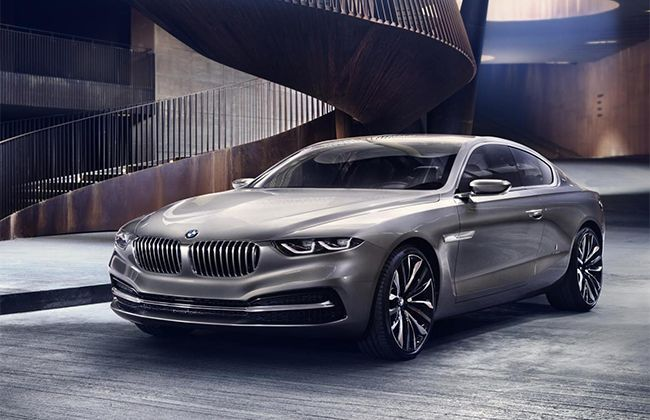 BMW Pininfarina Grand Lusso Coupe Concept Unveiled; hints at 8-Series?