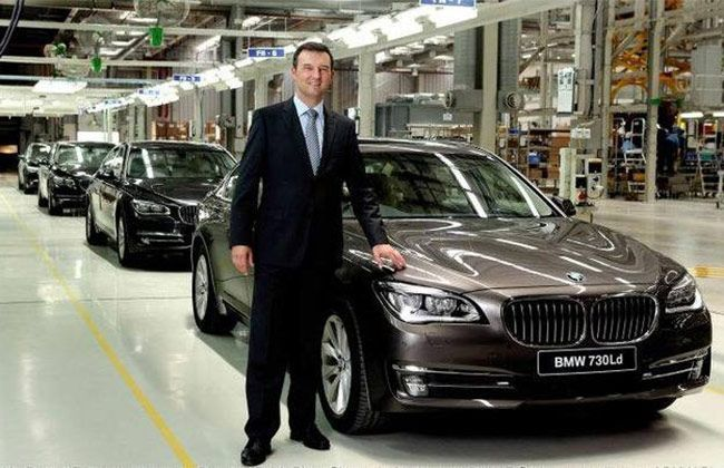 First locally assembled BMW 7-Series rolls out from Chennai Unit