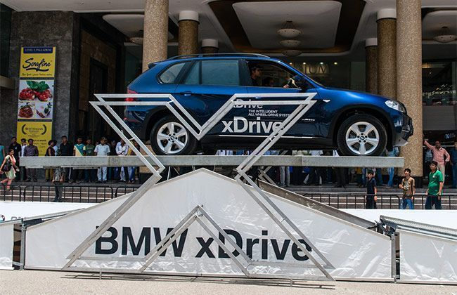 BMW's Superior xDrive showcase in Mumbai
