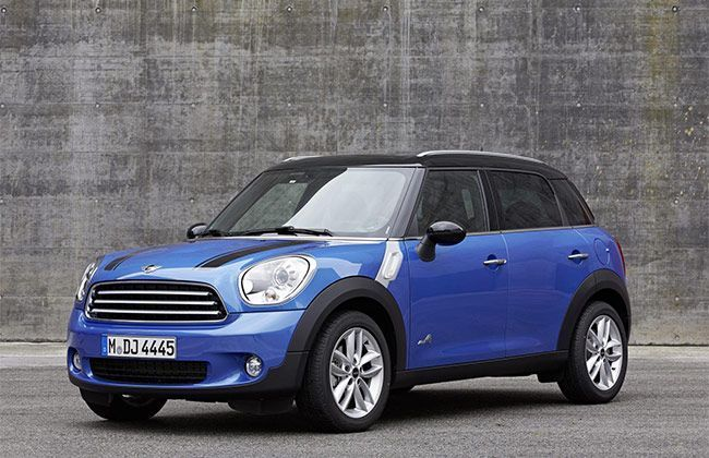 MINI Cooper Countryman and Paceman to come with AWD system (UK)