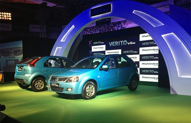 Mahindra launches the Verito Vibe