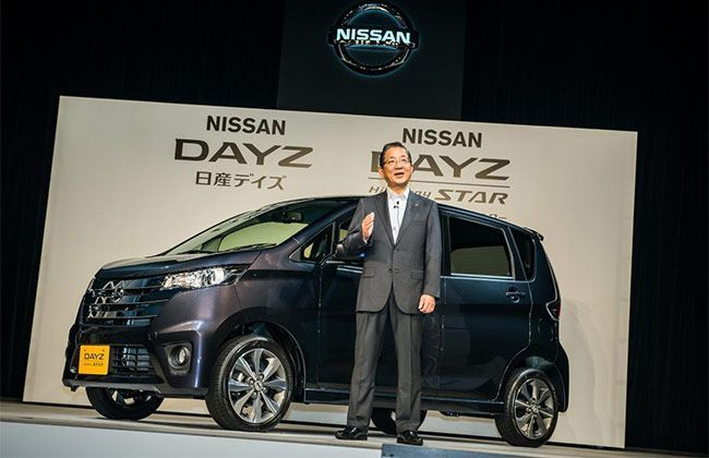 Nissan Dayz Mini Car Launched in Japan
