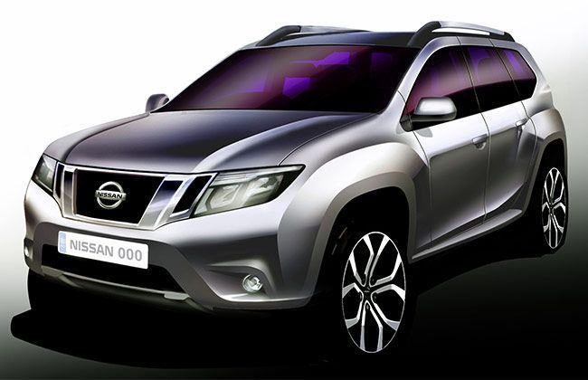 Nissan officially announces Terrano as the name of its new SUV