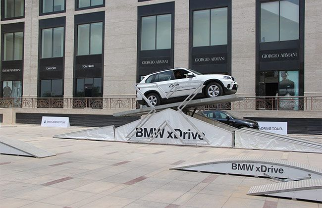 BMW showcases its xDrive technology