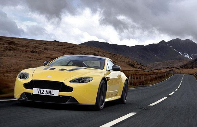 Aston Martin V12 Vantage touches 0-100kmph in 3.9 Seconds