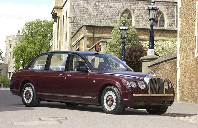 Queen's Bentley State Limousine to be displayed at  Coronation Festival
