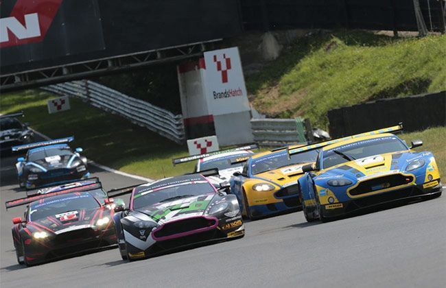 Aston Martin Celebrates Centenary at Brands Hatch