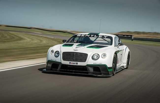 Bentley Continental GT3 Race Car debuts at Goodwood