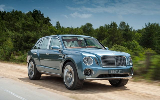 First Bentley SUV to go on sale in 2016