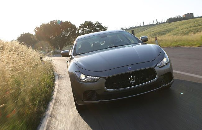 Maserati Ghibli features two twin-turbo V6 Petrol Engines