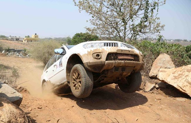 Pajero Sport Heart-in-Mouth adventure in Hyderabad on July 28