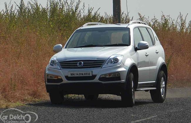 Mahindra launches Premium SsangYong Rexton in Raipur at Rs. 19.22 Lakh