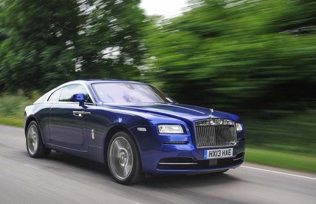 Rolls Royce Wraith launching on August 19 : Official