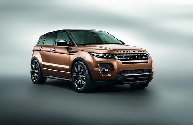 2014 Range Rover Evoque details revealed