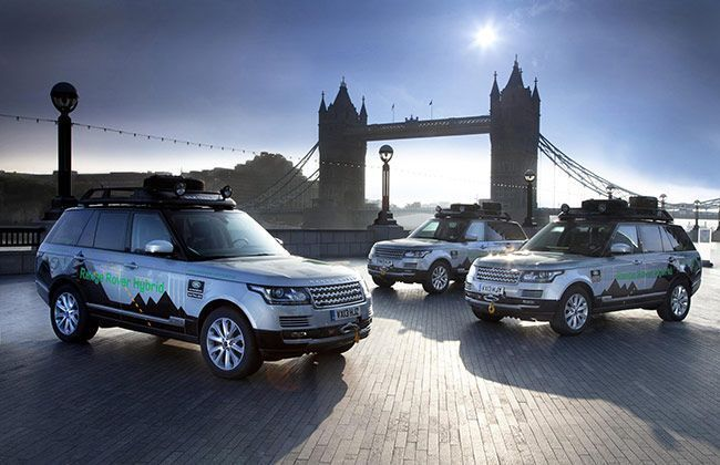Range Rover Hybrids epic trip 'Silk Trail' to reach India on October 15