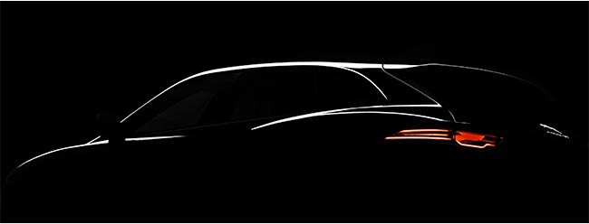 Jaguar to showcase the C-X17 concept at Frankfurt. Teases with an image