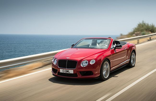 The new S model for the Bentley Continental