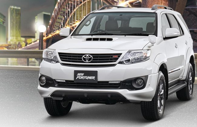 toyota launches facelifted fortuner in indonesia