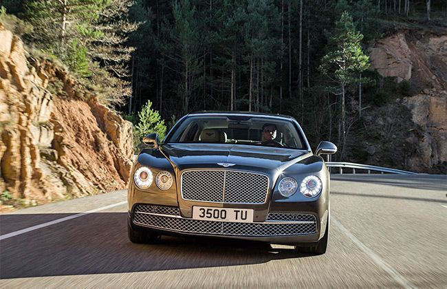 New Bentley Flying Spur launch on October 1, 2013