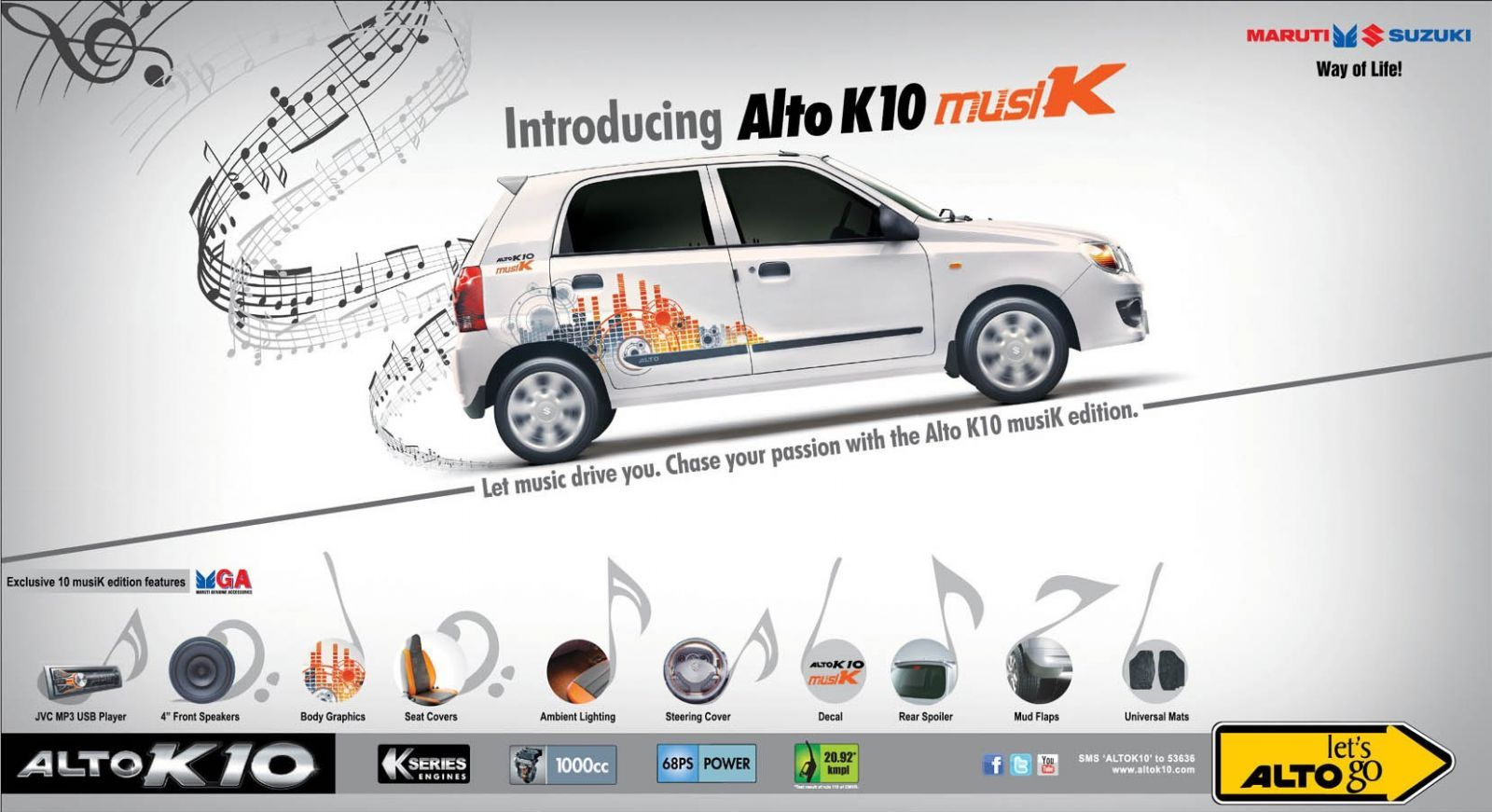 Maruti Alto K10 musiK Edition launched