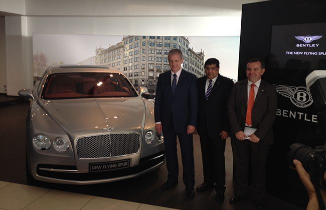 Bentley Launches New Flying Spur in India for Rs 3.10 crore