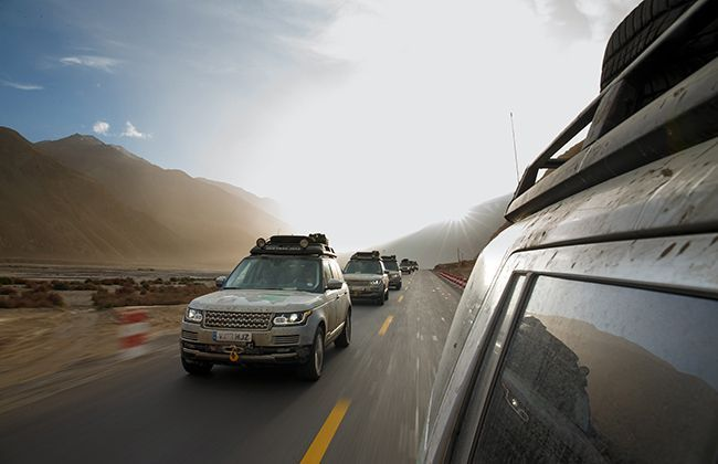 Land Rover Silk trail reaches China