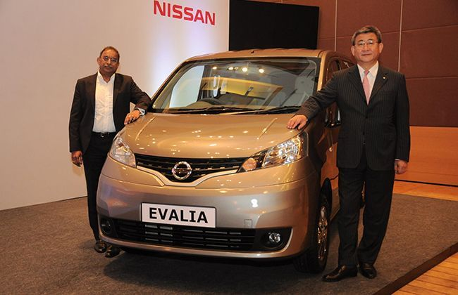 Nissan Evalia facelift launched at Rs 8.78 lakh