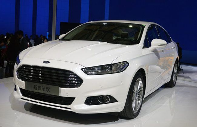 Ford to unveil Mondeo based 'global SUV' at 2013 LA Motor Show