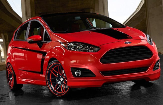 Ford to unveil five customised Fiesta at 2013 SEMA Show