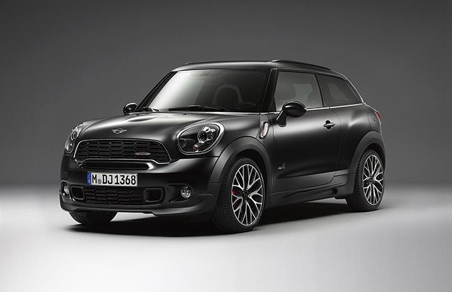 MINI Countryman and Paceman get exclusive Frozen Black Metallic Paint
