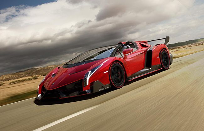 Lamborghini Veneno Roadster confirmed, limited to 9 units only