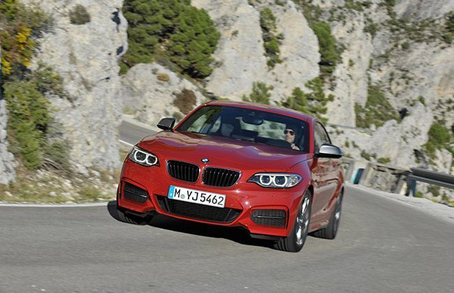New BMW 2 Series Coupe unveiled - Official