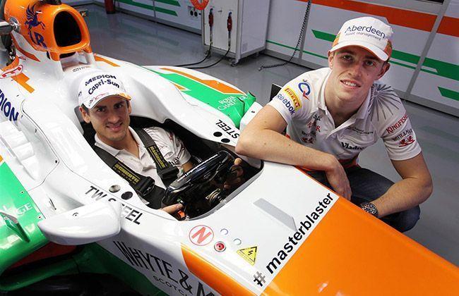 Sachin Tendulkar gets a tag on Force India
