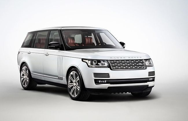 2014 Range Rover Long wheelbase and Autobiography Black Edition  Revealed