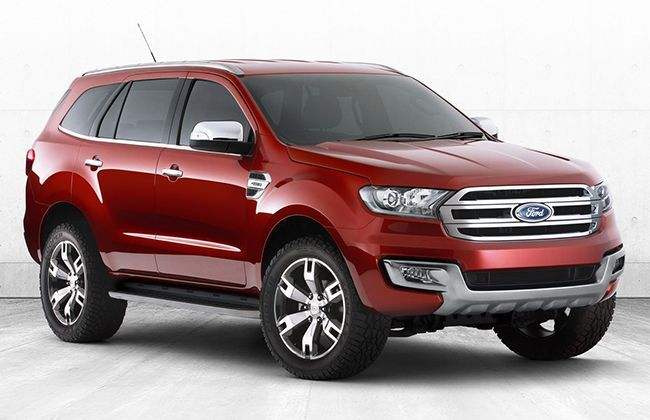 Next-generation Ford Everest aka Endeavour spied - Australia