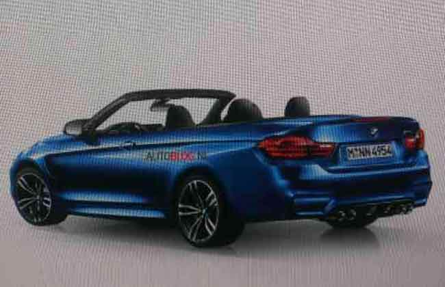 Is this the BMW M4 Convertible?