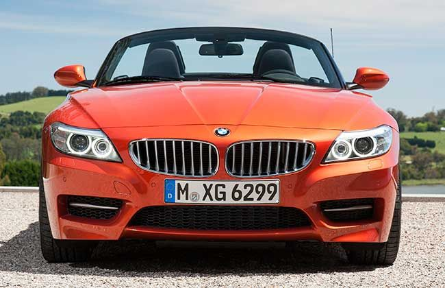 Updated BMW Z4 Roadster launching tomorrow