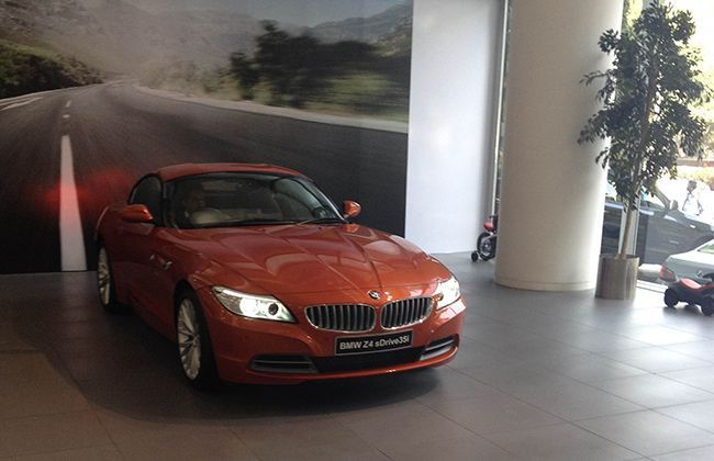 BMW introduces the new Z4