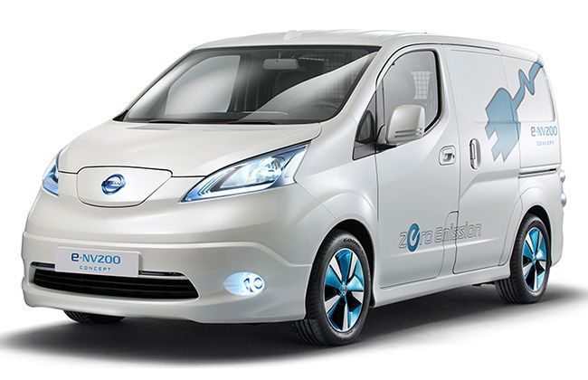 Nissan revealed all-electric e-NV200, debuts in Tokyo