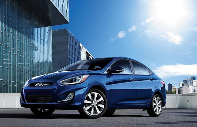 2014 Hyundai Accent aka Verna revealed in USA