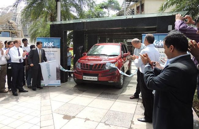 Mahindra XUV500 sets new Limca Book of Records